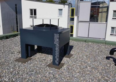 Wärmpumpenanlage in Neuhausen